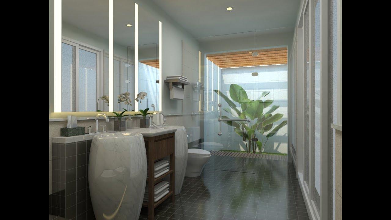 Sketchup Bathroom Design + Vray 2 0 Render