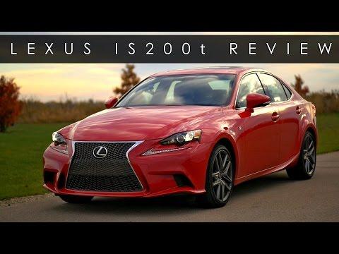 Review 2016 Lexus IS200t F Sport Boost Refined