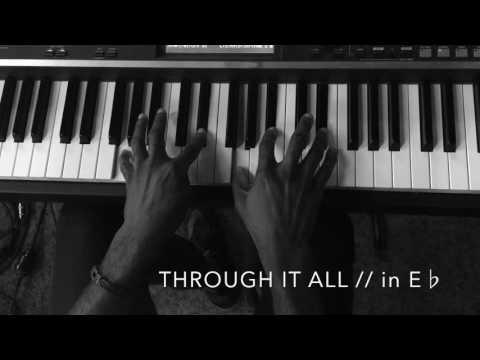 Through It All - Planetshakers (Keys Tutorial)