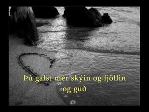 Ragnheiður Gröndal- Ást  (with lyrics/subs)