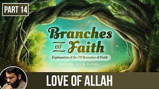 The Branches of Faith (Ramadan 2018 - Part 14): Love of Allah - Shaykh Dr. Yasir Qadhi