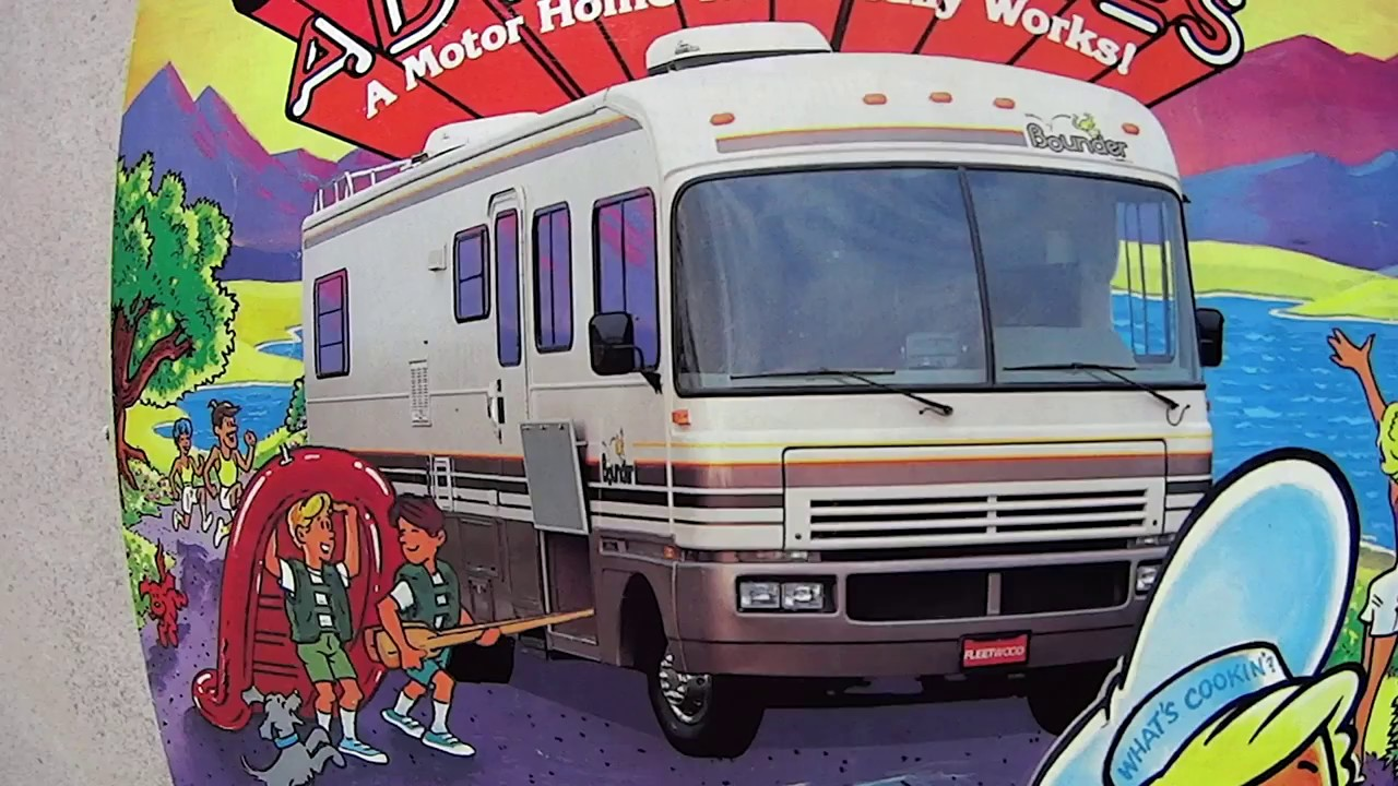 92 Bounder Motor Coach And Intro To RV Life Travel
