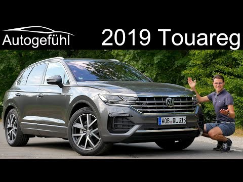 All-new Volkswagen Touareg III R-Line FULL REVIEW 2019 VW Touareg 3 Test - Autogefühl