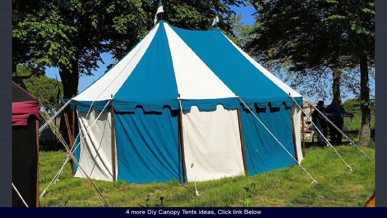 Diy Canopy Tent Ideas Youtube
