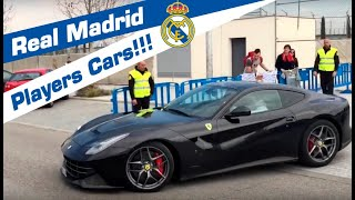 Real Madrid - Players Cars!!