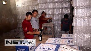 Pabrik Miras Oplosan Terbesar Jawa Tengah Digrebek Polisi- NET JATENG