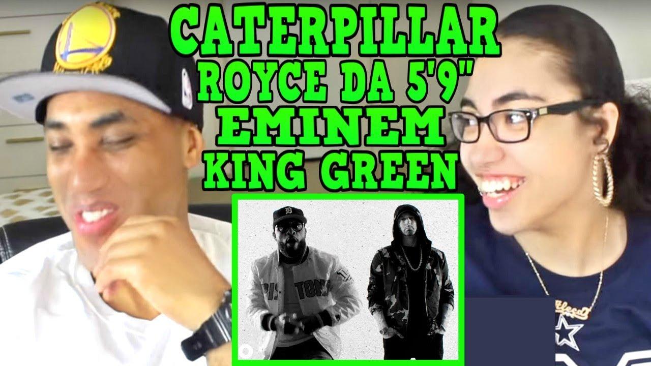My Dad Reacts To Royce Da 59 Caterpillar Ft Eminem King Green Reaction