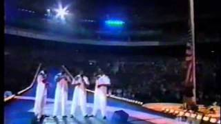 1996   American National Anthem Live At Atlanta Olimpic Games The Beginning