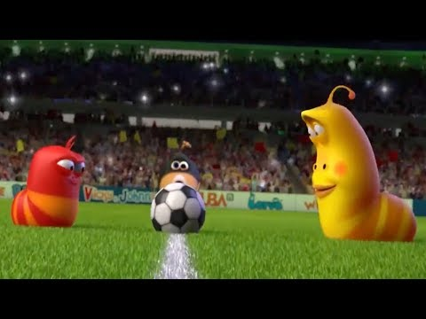 LARVA - SOCCER | Larva World Cup Song | Cartoons For Childre