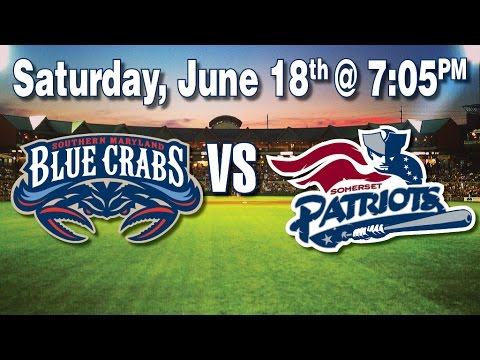 6/18/16:-southern-maryland-blue-crabs-@-somerset-patriots