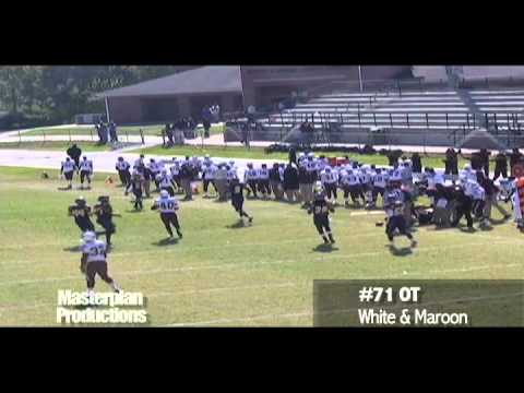 2011 Draft Prospect - OT Miles Stroter Pass Plays