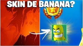 FORTNITE-UPDATE TIME ET POSSIBLE PEAU DE BANANE!
