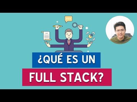 ¿Qué es y cuanto gana un desarrollador full stack? #CafeConRivas