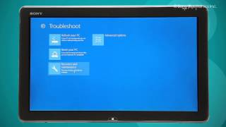 How to Perform System Recovery outside Windows 8 OS?