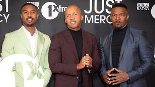 Changing The Black Narrative - Michael B. Jordan, Jamie Foxx and Bryan Stevenson