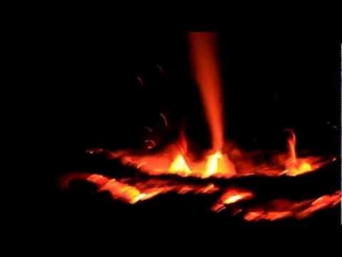 Как горит водка