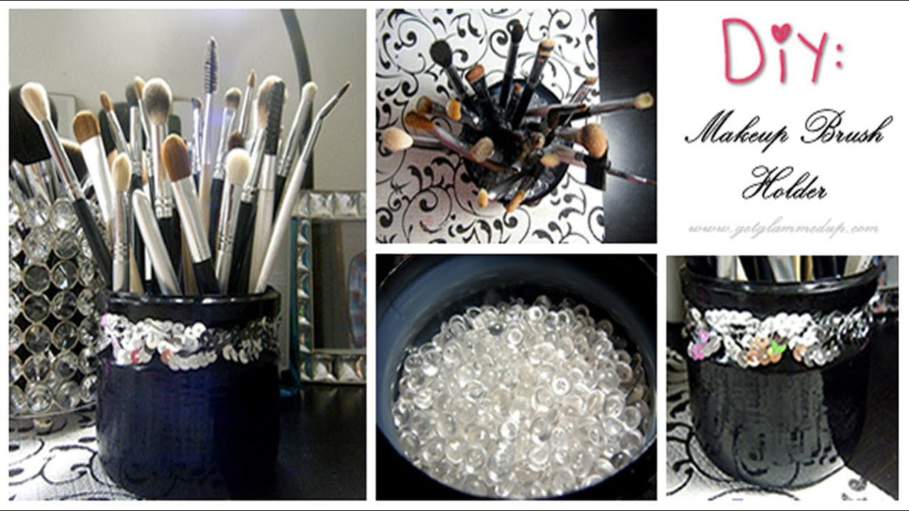 makeup brush holder with lid diydiy pretty makeup brush holders courtesy of isabelle romantic