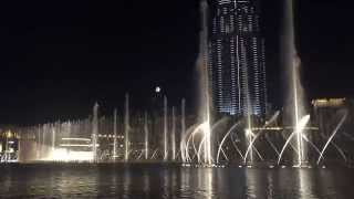 Dubai Mall Fountain - Enrique Iglesias - Hero - Spanish