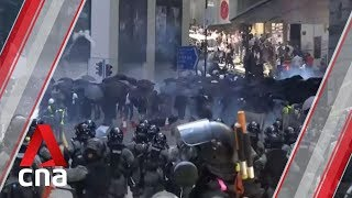 Analyst on ongoing violence in Hong Kong