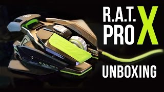 SPACESHIP MOUSE - Unboxing Mad Catz R.A.T. PRO X | Weasel Unboxing