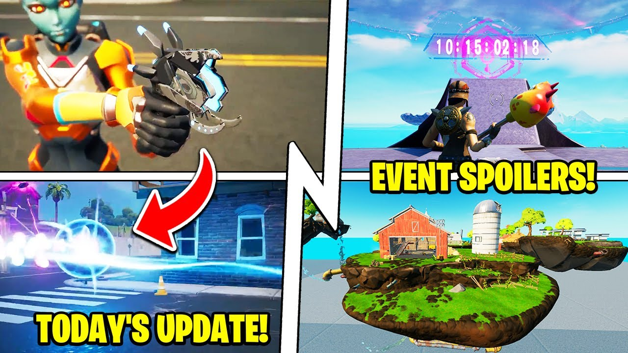 """The """"Abduction"""" Live Event (10 DAYS!), RIP 3 Locations, 17.21 Update!"""
