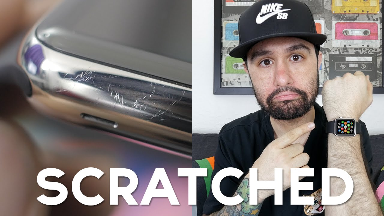 Apple Watch SCRATCHES FIX Scratchgate YouTube