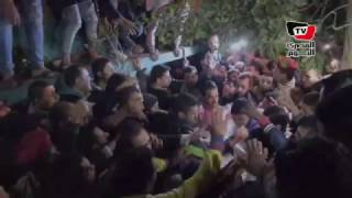 تشيع جنازة الشهيد محمود المحمدي بقرية ميت الكرماء بالدقهلية