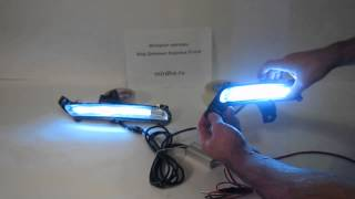 видео Дневные ходовые огни на Киа Рио: установка, включение