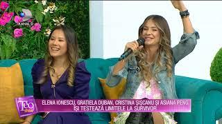 Teo Show (06.01.2020) - Concurentele se pregatesc de SURVIVOR! Care sunt primele reactii?