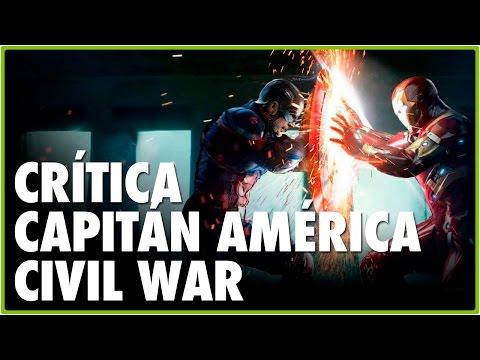 Crítica de CAPITÁN AMÉRICA CIVIL WAR HD