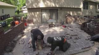 Backyard Outdoor Patio: Timelapse