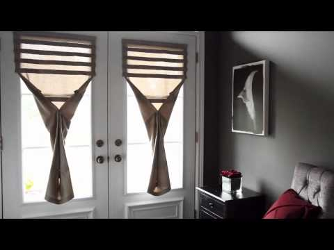 Magnetic blinds for metal doors from Paoma