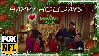 Merry Christmas from Cooper Manning