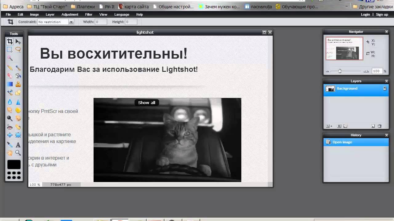 Скриншоты lightshot как сделать