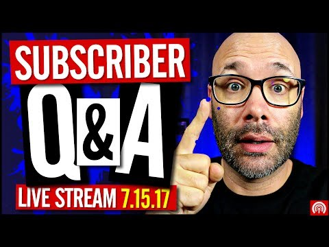 Subscriber Q and A - Answering Your YouTube Questions - Reviews -  🔴 LIVE REPLY