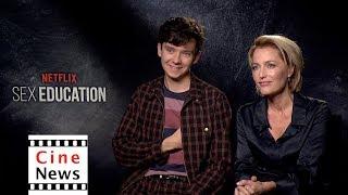 Sex Education – Interview: Gillian Anderson & Asa Butterfield