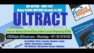 Ultaact Servo Motor Encoder Repairs @ UAE Dubai, Abu Dhabi  Saudi Arabia, Oman, Bahrain, Kuwait