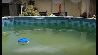 Grünes Wasser im Intex Pool mit Vitamin C klären