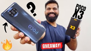 Poco X3 Unboxing & First Look - Rebranding Is Over!!! Giveaway🔥🔥🔥