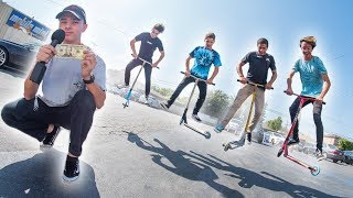 Tail Whip Challenge!! [EP 3] - Cody Flom, Tyler Chaffin, James Graham, and Joel Kamakani │ The Vault