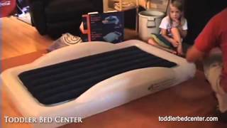 Toddler Bed Center: The Shrunks Indoor Travel Bed Review