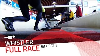 Whistler | BMW IBSF World Cup 2015/2016 - Women's Skeleton Heat 1 | IBSF Official