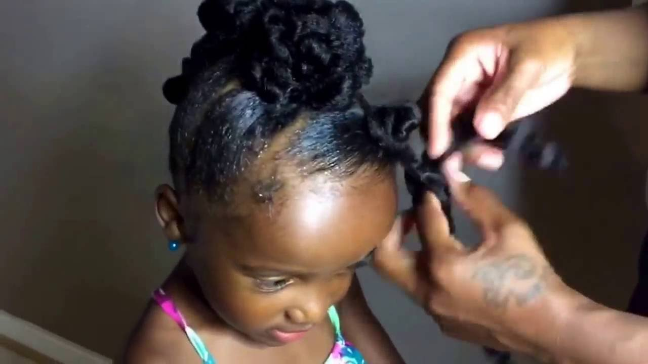 Jumbo Twist Braid Protective Style For Natural Hair Kids