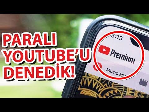 Sen de mi Youtube: Aylık 22TL'lik Paralı Youtube'u Satın Alıp Denedik! (Android 5 TL Daha Ucuz)
