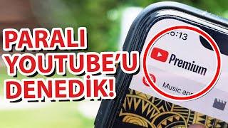 Sen de mi Youtube Aylık 22TLlik Paralı Youtubeu Satın Alıp Denedik (roid 5 TL Daha Ucuz)