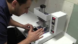 iPhone 6 bisel reemplazo Marco Remodelación Servicio ICD lente máquina laminadora