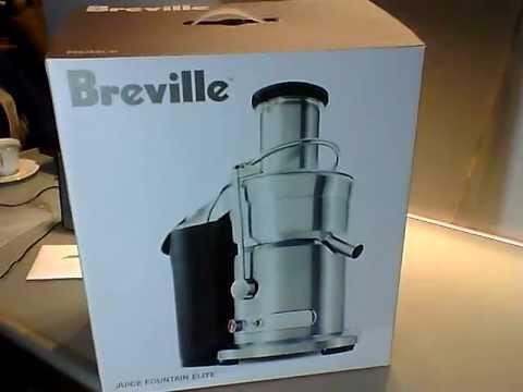 breville juice fountain elite 800 jexl b juicer unboxing - Breville Juicer