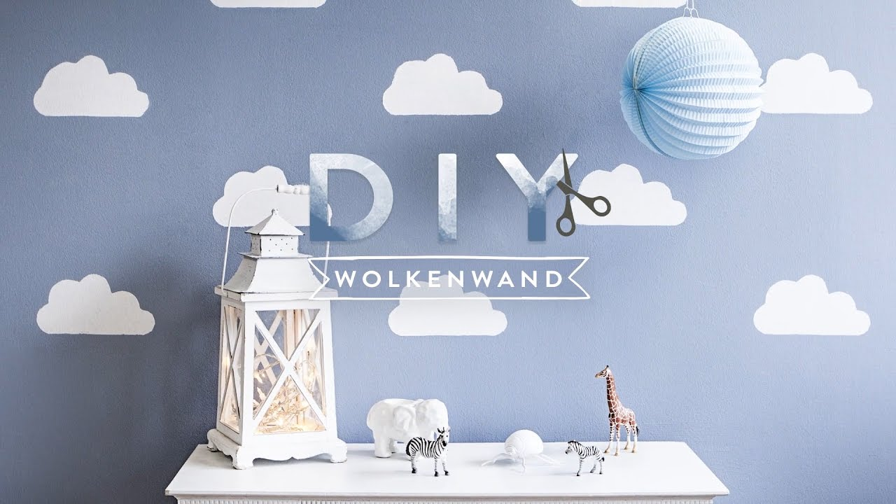 wolkenwand | westwing diy-tipps - youtube