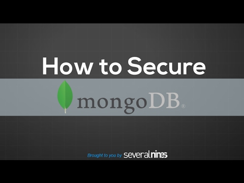 How To Secure MongoDB: Ten Tips for the Recent Hacks and Ransoms