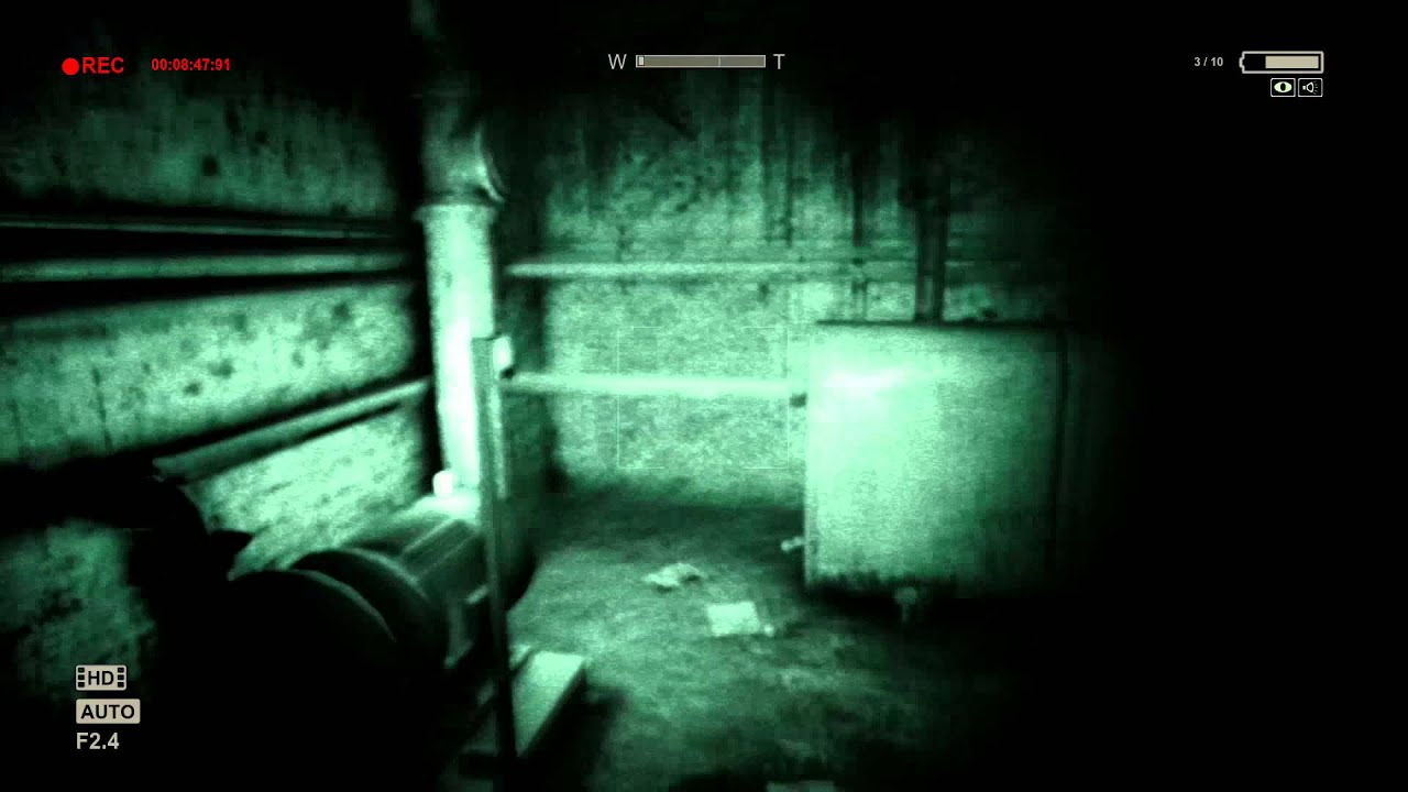 outlast pc gameplay hd 1080p max settings youtube